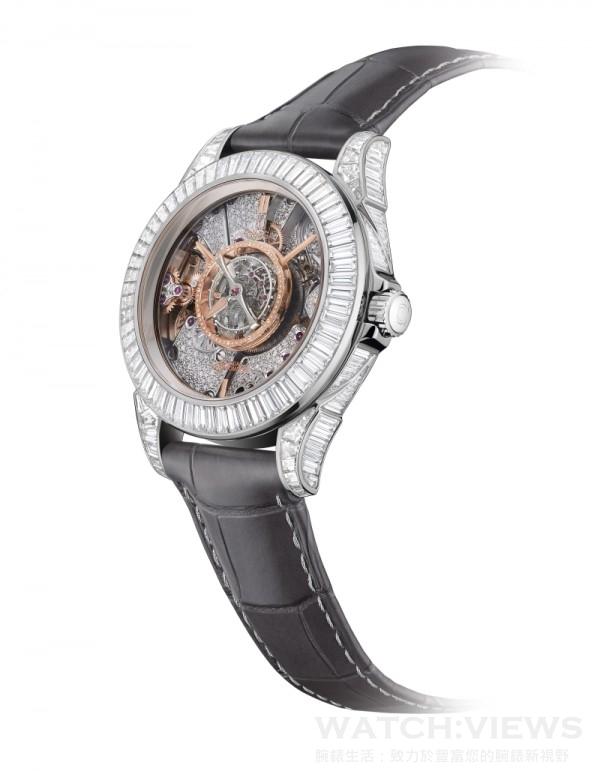 碟飛中置陀飛輪腕錶De Ville Central Tourbillon Ref.513.98.39.21.56.001,定價NTD16,959,100。