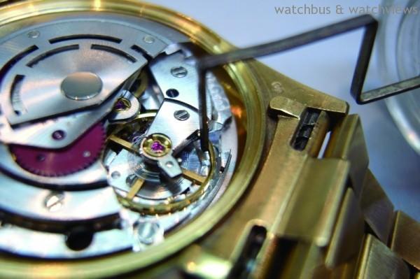 Rolex專用微調器Micro-Stella 可精密微調快慢至秒的精準度,讓勞力士成為錶迷公認最精準的品牌。