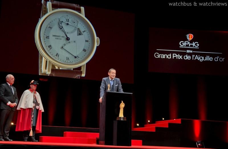 成績揭曉:GPHG'14日內瓦高級鍾錶大賞得獎名單出爐,寶璣Classique Chronométrie腕錶奪金指針大獎