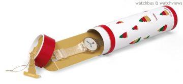 Ho!Ho!Ho!Santa Claus is Coming:SWATCH發表翻轉聖誕限量錶款與冬季童話特別款童錶