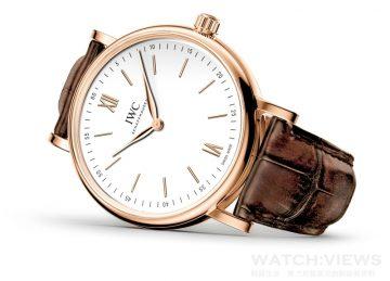 簡潔至極:IWC全新Portofino Pure Classic 柏濤菲諾手動上鏈簡約經典腕錶