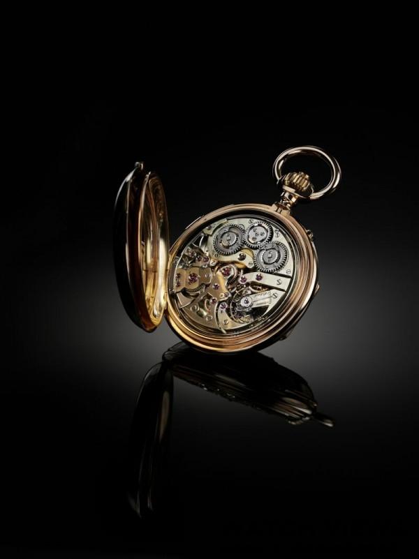 積家1880年三問懷錶