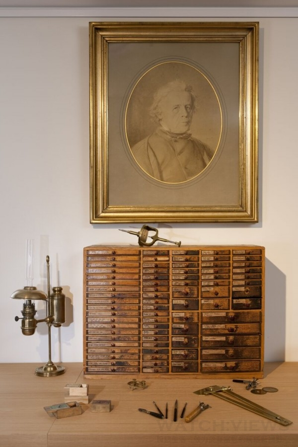 Antoine Le Coultre_founder_Heritage Gallery_Jaeger-LeCoultre