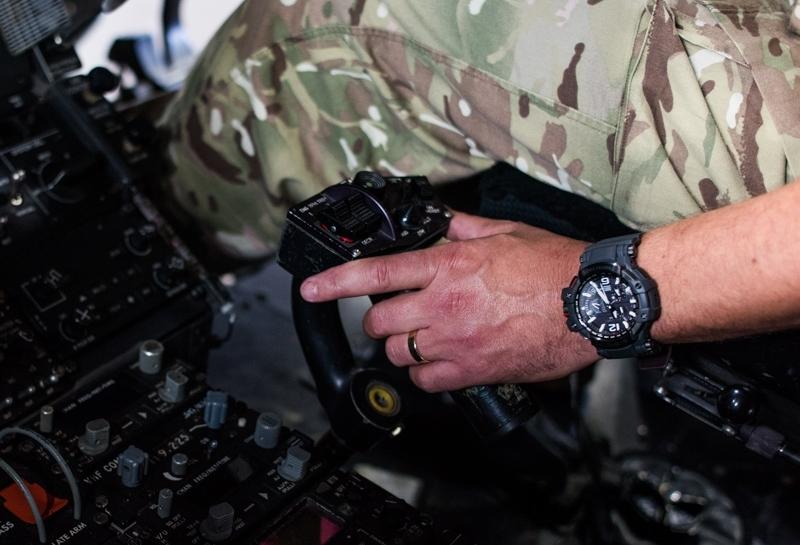 搭載GPS跨越時區,馭空馳騁天際:G-SHOCK x ROYAL AIR FORCE官方聯名錶款GPW-1000RAF磅礡登場