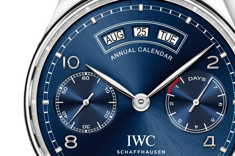 Pre-SIHH 2015 IWC Portuguese葡萄牙系列年曆腕錶