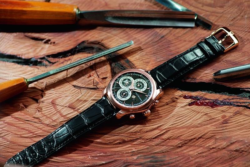 掌握時光:carl F. Bucherer寶齊萊Manero馬利龍系列腕錶