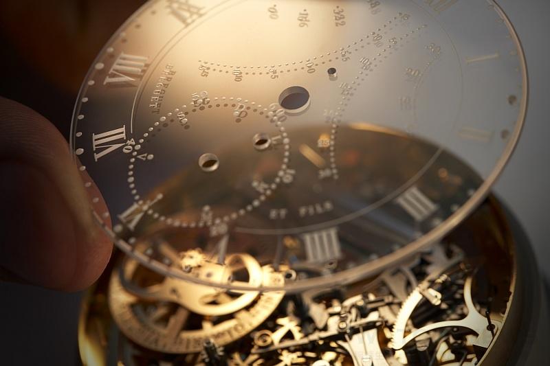 Breguet寶璣與瑪麗安東尼Marie-Antoinette(下):瑪麗皇后大複雜功能懷錶N° 1160