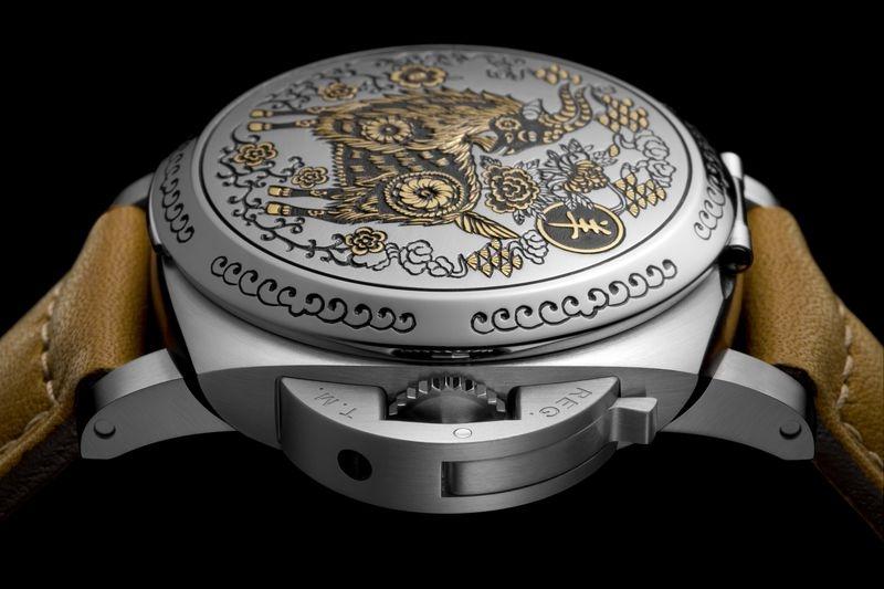 沛納海精心打造全新羊年限量版腕錶 Luminor 1950 Sealand – PAM00848