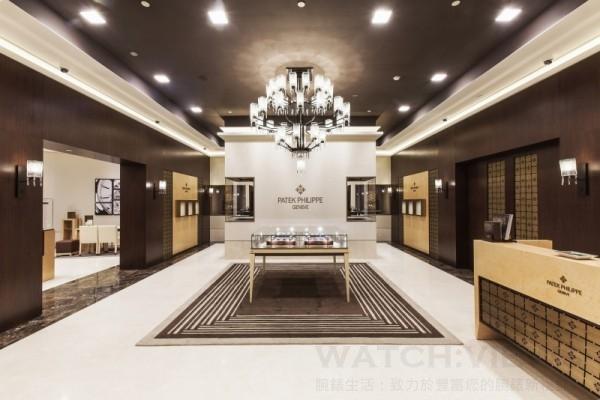 高登鐘錶台北101百達翡麗最大經銷專賣店迎賓大廳