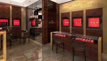 ROGER DUBUIS全台首間專賣店,宛如台北101皇冠上的閃耀寶石