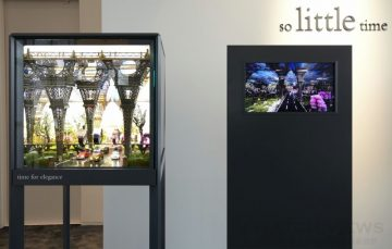 Hermès愛馬仕So Little Time櫥窗藝術,即日起至2015年1月25日在台北101 的愛馬仕鐘錶珠寶專門店展出