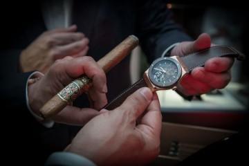 """與著名雪茄品牌ARTURO FUENTE再次合作 HUBLOT宇舶錶隆重呈現Classic Fusion """"ForbiddenX""""限量腕錶"""