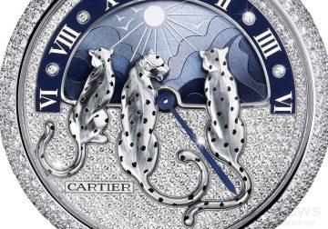 [2015 Pre-SIHH] 女性魅力的夢幻演繹:Casrtier Rêves de Panthères幻夢美洲豹晝夜顯示腕錶