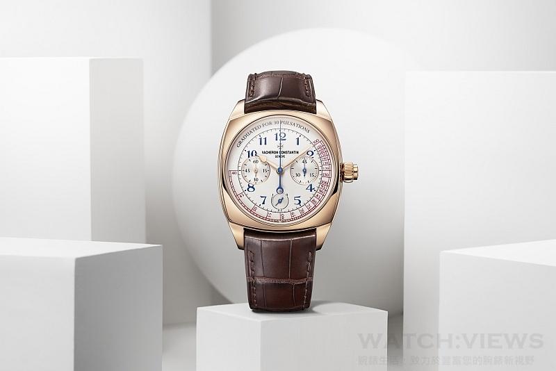 【2015 SIHH報導】江詩丹頓Vacheron Constantin Harmony系列3300機芯計時碼錶