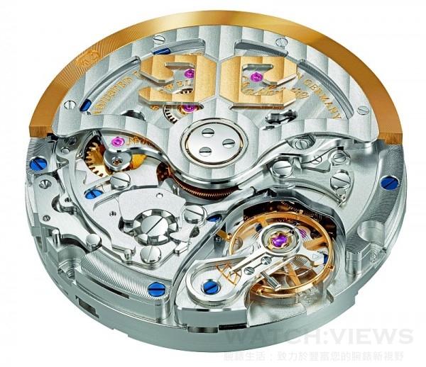 格拉蘇蒂原創全新開發的Caliber 37自動上鍊計時碼錶機芯