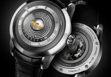向羅馬皇帝馬可·奧里略Marcus Aurelius致敬:Christophe Claret Aventicum腕錶