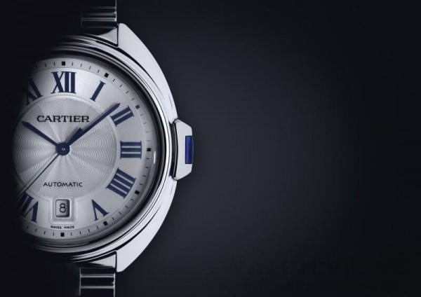 Cle de Cartier系列腕錶在腕錶設計中突出造型特徵,將強烈線條和非凡外觀作為款式亮點。