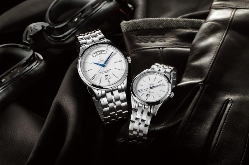 瑞士依波路表Ernest Borel復古系列機械對錶見證愛戀時刻