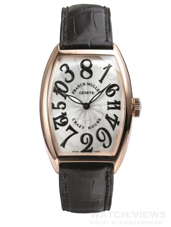 RANCK MULLER Crazy Hours 玫瑰金腕錶,定價 NTD 1,156,000