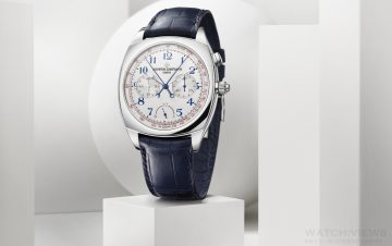 【2015 SIHH報導】江詩丹頓推出HARMONY 3500機芯超薄高級複雜計時腕錶
