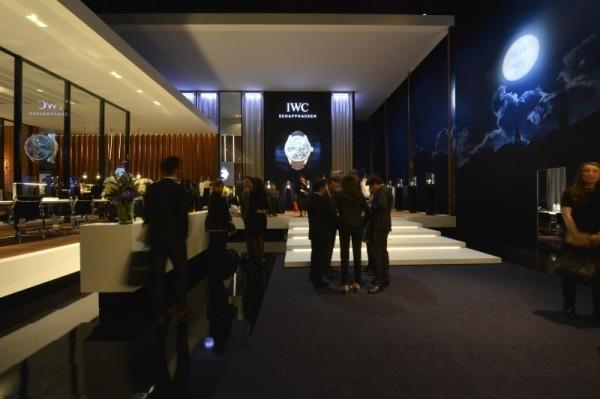 日內瓦高級鐘錶展IWC展廳