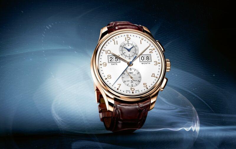 【2015 SIHH報導】濃縮於45毫米間的精湛工藝:IWC葡萄牙系列萬年曆數字日期-月份腕錶「75週年」特別版