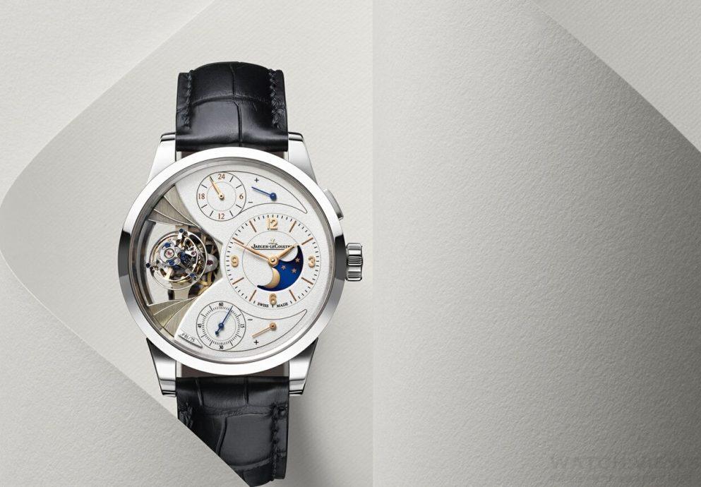 【2015 SIHH報導】從地球到月球,完美融合:積家Duomètre Sphérotourbillon Moon雙翼立體雙軸陀飛輪月相腕錶