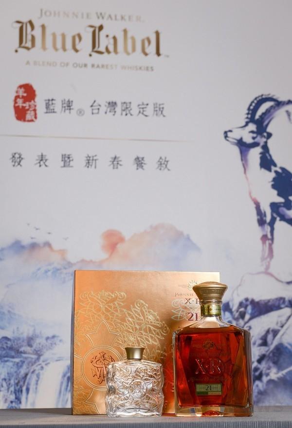 JOHNNIE WALKER XR 21年蘇格蘭威士忌「琉璃酒瓶」禮盒
