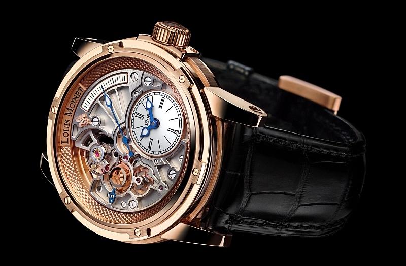 Louis Moinet 品牌故事與全新20秒逆跳腕錶20-Second Tempograph