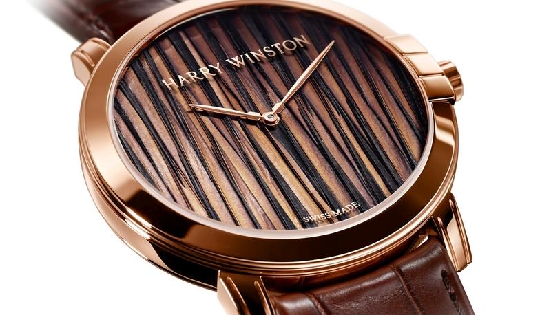 Pre-Basel HARRY WINSTON靜夜 MIDNIGHT 系列 FEATHERS 42 毫米自動腕錶