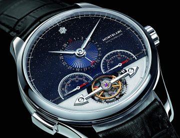 萬寶龍隆重呈獻全新優雅典範—Heritage Chronométrie ExoTourbillon Minute Chronograph傳承時測系列分鐘外置陀飛輪計時腕錶