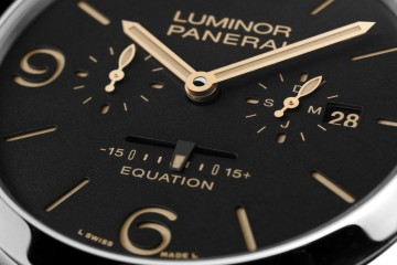【2015 SIHH報導】沛納海推出兩枚全新時間等式腕錶:Radiomir 1940及Luminor 1950 Equation of Time 8 Days腕錶