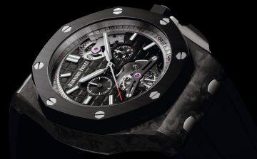 【2015 SIHH報導】經典革新:愛彼推出皇家橡樹離岸型自動上鍊陀飛輪計時碼錶