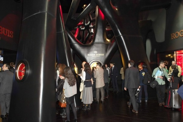 日內瓦高級鐘錶展Roger Dubuis展廳