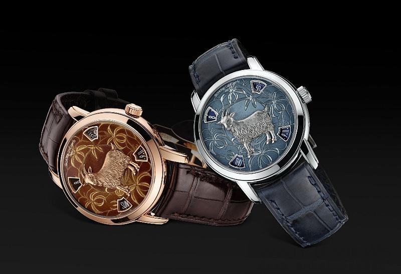 歡慶中國新年,羊年腕錶初集合