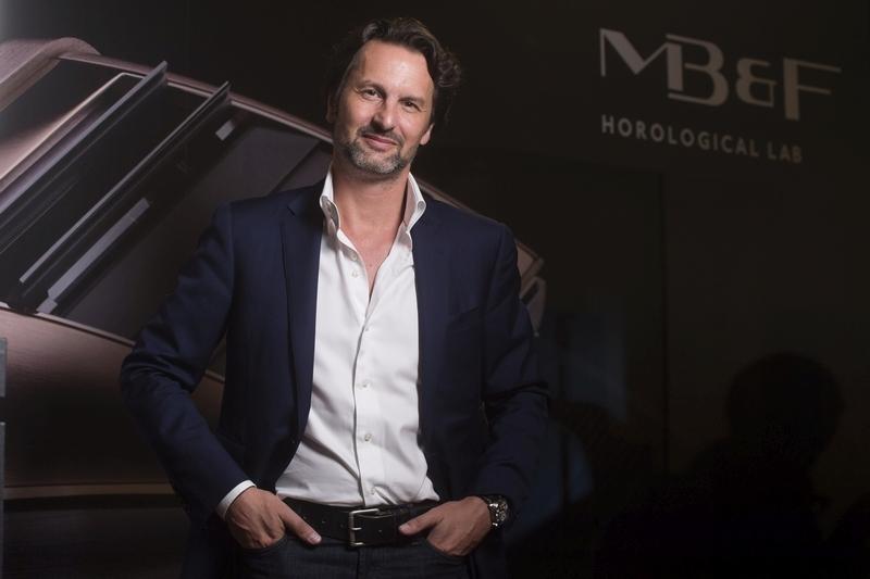 專訪MB&F創辦人暨行政總裁Maximilian Büsser