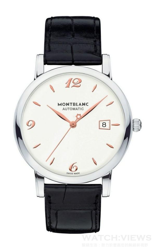 萬寶龍Star Classique系列自動腕錶白色面盤款,NT$105,500。