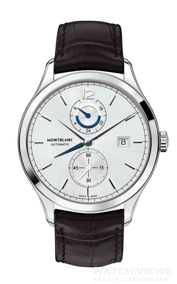 Heritage Chronométrie傳承時測系列兩地時間腕錶,建議售價約NT$152,900。