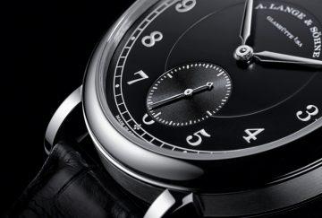 """紀念創辦人誕辰200周年,朗格推出限量200枚的1815 """"200th Anniversary F. A. Lange""""鉑金腕錶"""