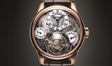【2015 Pre-Basel報導】精雕細琢哥倫布探險歷程,同賀頌讚ZENITH 150年製錶之先鋒精神:Academy Christophe Colomb Hurricane Grand Voyage II 腕 錶