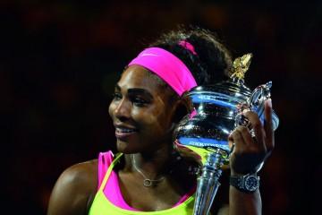 愛彼品牌好友小威廉絲Serena Williams榮獲人生第19個網球大滿貫獎項