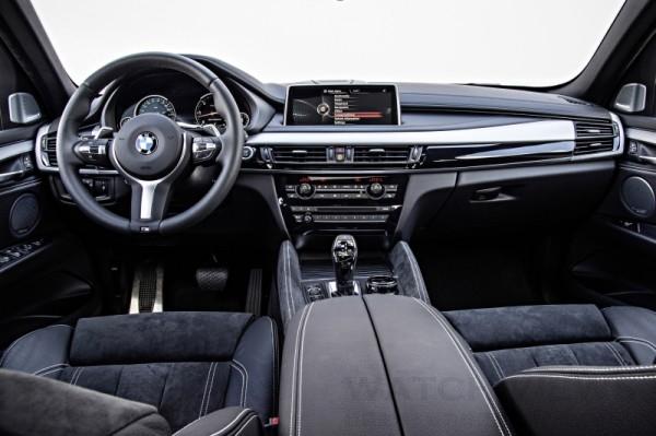 全新BMW X6 M50d內裝