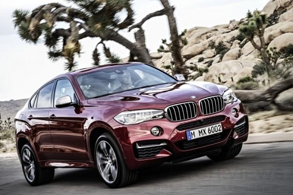 全新BMW X6 M50d