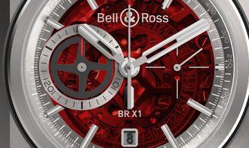 科技與精密所帶來的超凡性能:Bell & Ross BR-X1終極計時碼錶紅色限量款