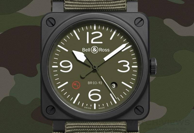 【2015 Pre-Basel報導】純正的軍用航空腕錶:Bell & Ross BR03-92 MILITARY TYPE