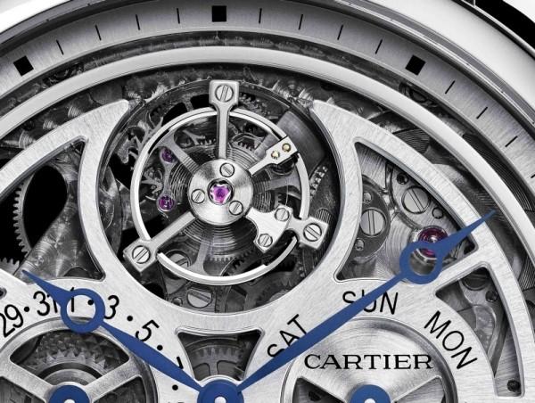 Rotonde de Cartier大型複雜功能腕錶備有浮動式陀飛輪