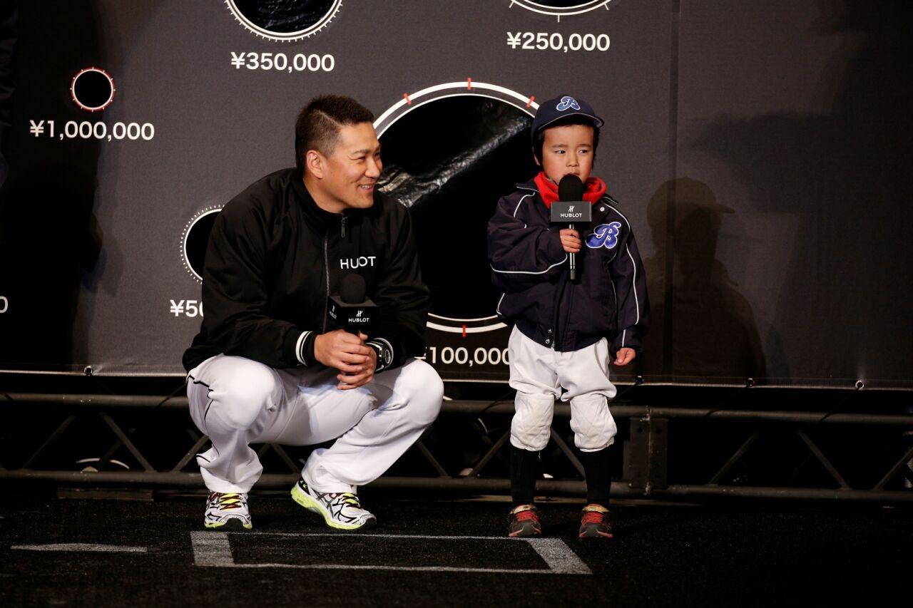 慶祝田中將大成為第一位來自日本的品牌大使,HUBLOT舉辦「宇舶錶 x 田中將大」慈善鐵腕挑戰賽