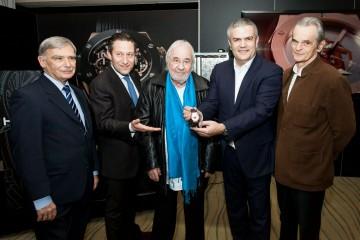 HUBLOT宇舶錶與瑞士設計師Roger Pfund合作推出獨特款Classic Fusion Jaques-Dalcroze腕錶,慶祝Emile Jaques-Dalcroze音樂學院創校百年紀念