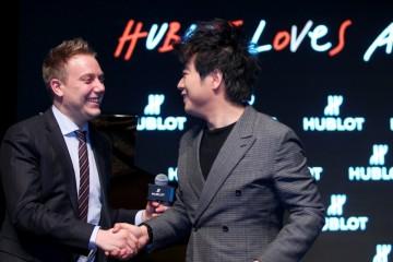 HUBLOT LOVES ART:宇舶錶宣佈國際鋼琴巨星郎朗成為全球品牌大使,先鋒性創新精神激發前所未有的融合藝術