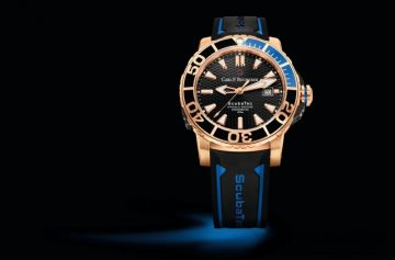 【2015 Pre-Basel報導】無懼挑戰 型格超然:Carl F. Bucherer寶齊萊Patravi柏拉維ScubaTec玫瑰金潛水腕錶
